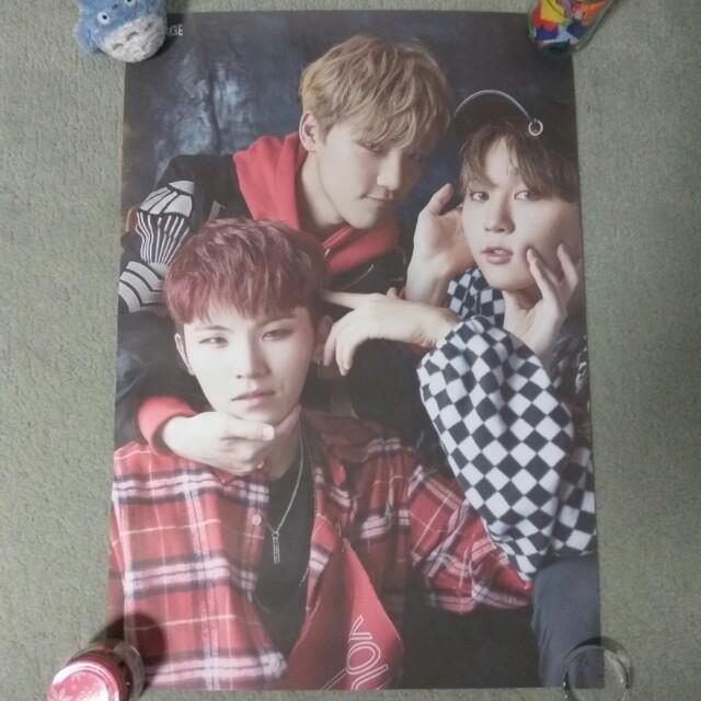 SEVENTEEN - Teen, Age (Woozi, Seungkwan & Dino ver.) (Poster) [UNFOLDED]