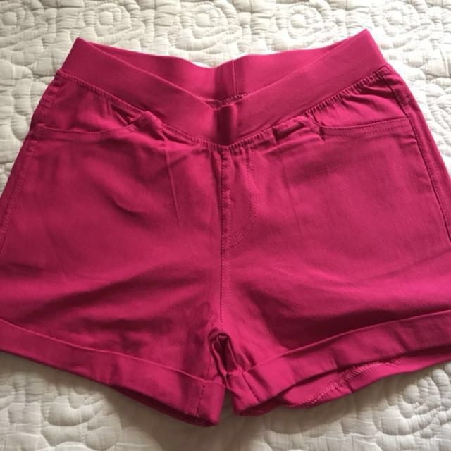 Shorts from Korea (stretchable cotton) free size