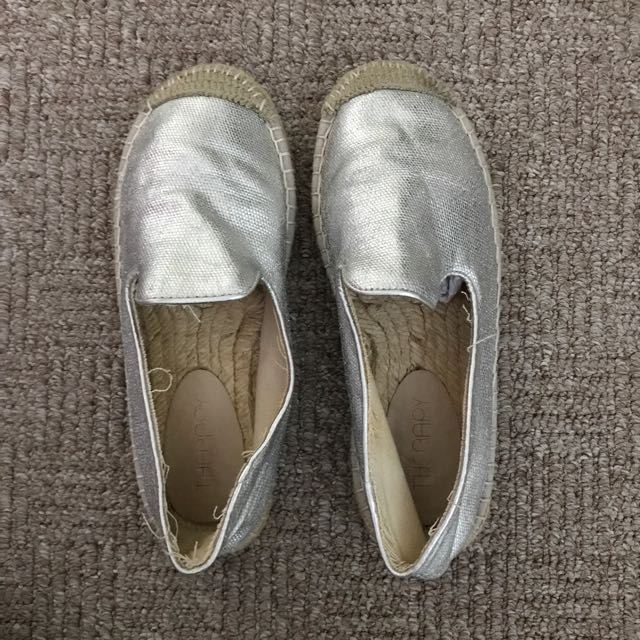 Silver flats AU5 EU36