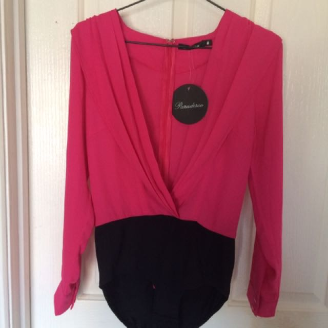 Size 8 Bodysuit New With Tag