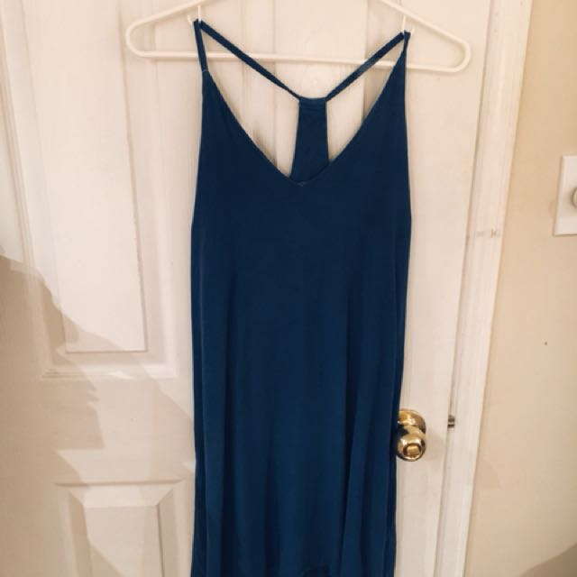 Slip cotton dress