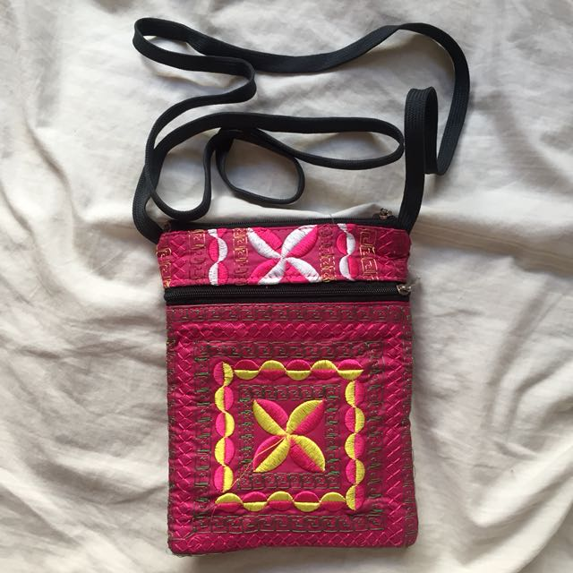 small crossbody bag from thailand