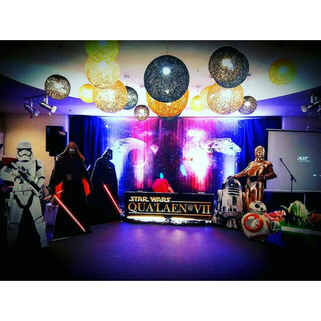 Star Wars Themed Standees