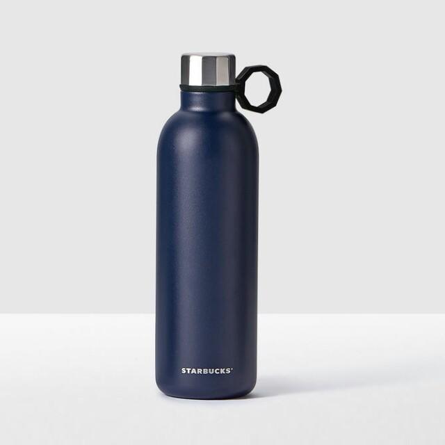 Starbucks Tumbler  Stainless Steel Water Bottle Blue 20fl oz/ 591ml