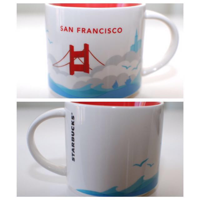 Starbucks Yah In You FranciscoHome Are Here San Mug Collection X8nNwPk0O