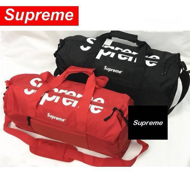 80f66d02b5 Supreme Duffle Bag Travel Gym Bag
