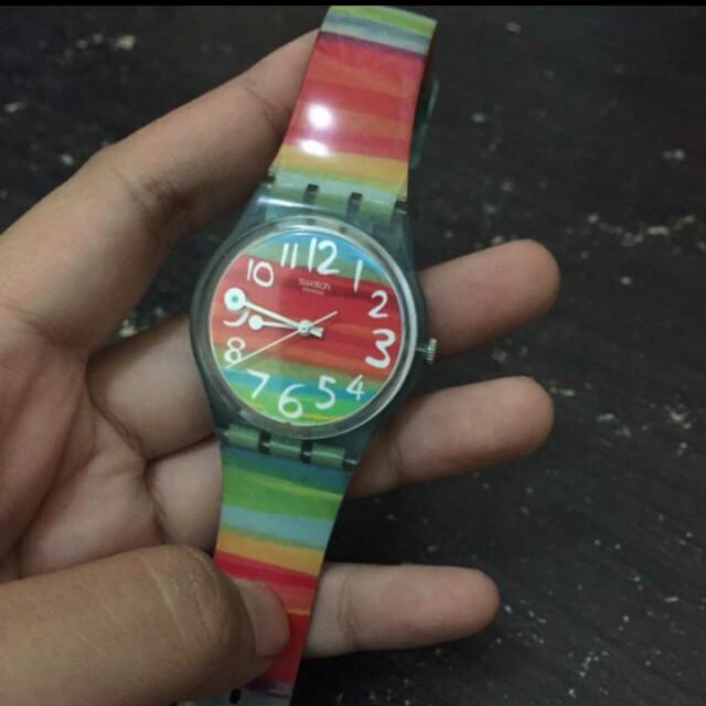 Swatch rainbow gs124