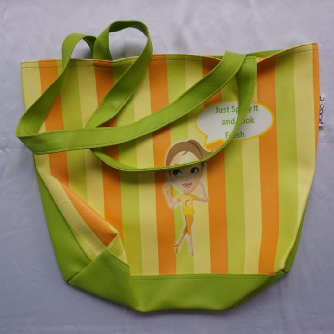 Tas Jinjing / Tote Bag Hijau