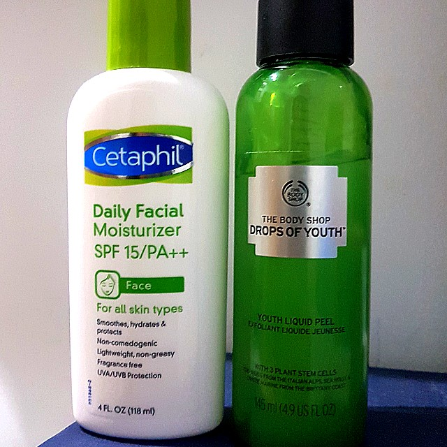 The Body Shop and Cetaphil