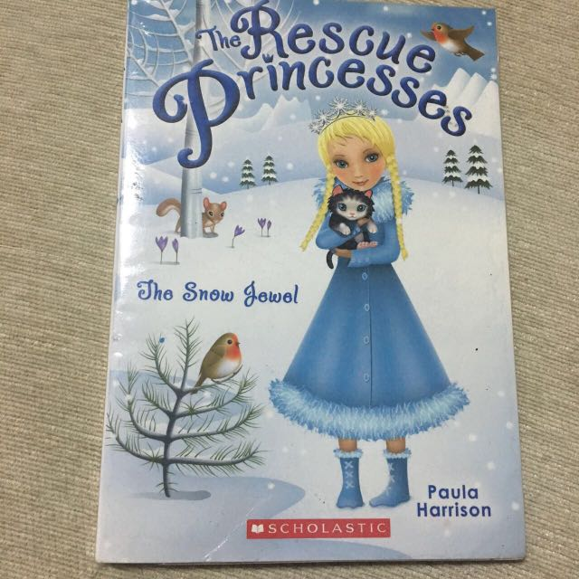 The rescue princesses - The snow Jewel