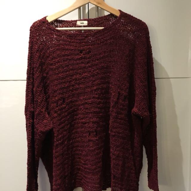 Tobi oversized sweater size M/L