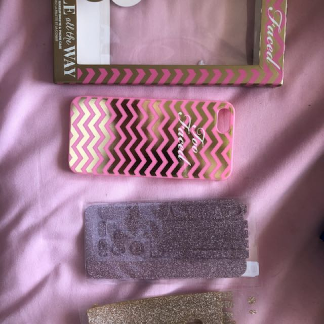 Too faced iPhone 5-5s case