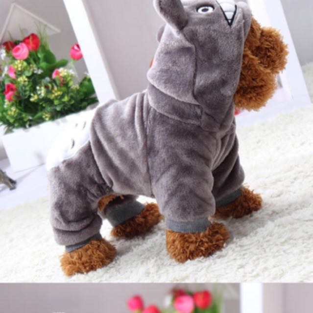 Totoro dog clothes