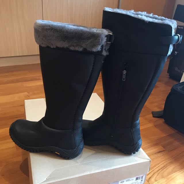 006cf026137 UGG W Miko Winter Boots -Black, Women's Fashion, Shoes on Carousell