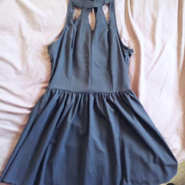 Valleygirl Cutout Skater Dress