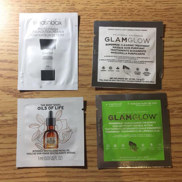 Various samples