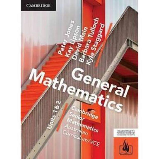 VCE General Maths PDF Units 1 & 2