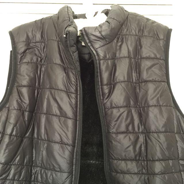 Vest - fur inside size M