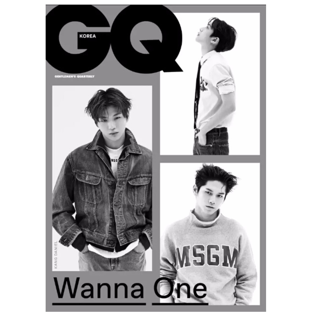 WANNA-ONE MAGAZINES