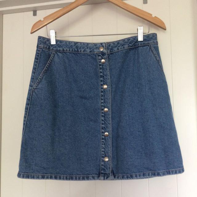 Waredenim Denim Skirt