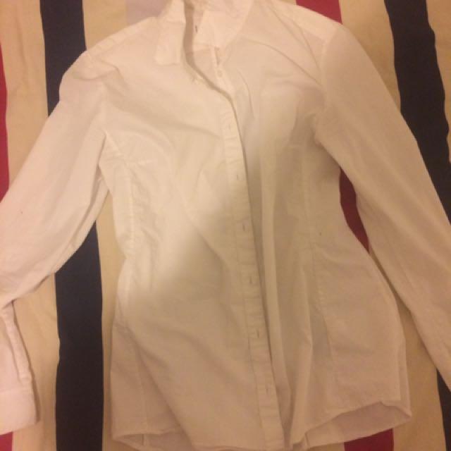 White shirt size S