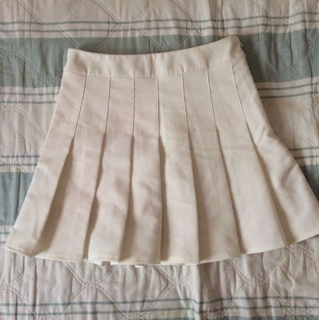 White Tennis Skirt