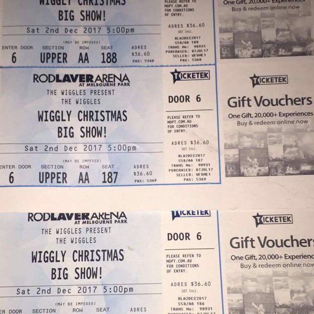 Wiggles Melbourne Concert