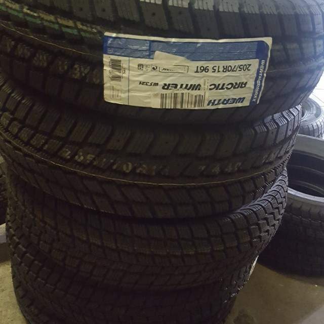 WINTER TIRES 205 70 r15