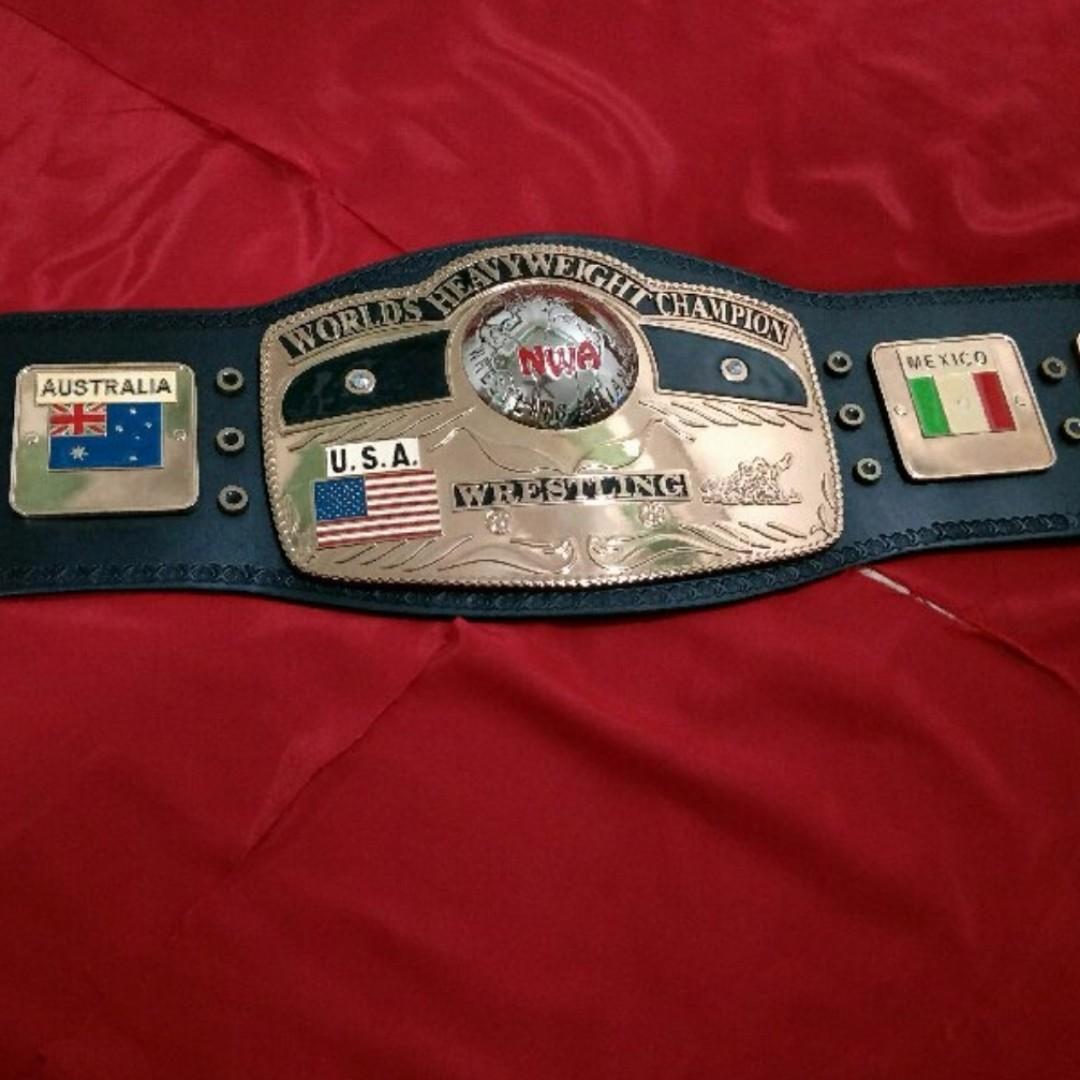 Used Cars Nwa >> WTS: NWA Heavyweight Championship Wrestling Belt Replica ...