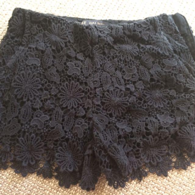 Zara Laced Shorts