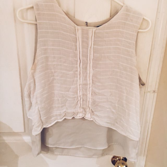 Zara silk top