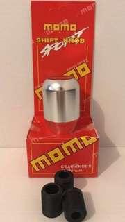 MOMO - Shift Knob MT Sport Gear Knob - Silver - Chrome -