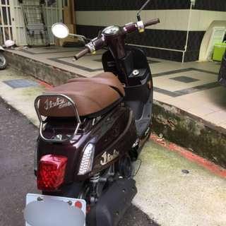 限台灣 ( 誠可議價 )PGO 比雅久 J-BUBU 115 雙座版/紫