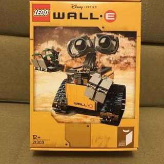 Lego Wall•E BNIB 全新未開