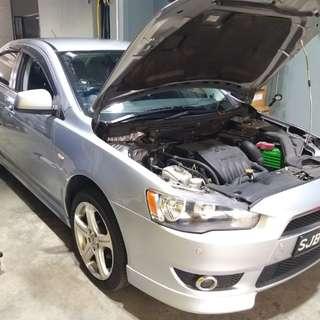 basic car servicing $38