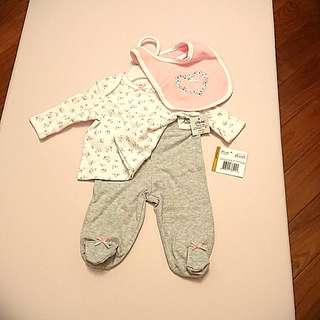 Little me baby clothes, NEW BORN TO 3M, BB衫