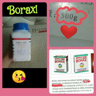 Borax[sodium teraborate]