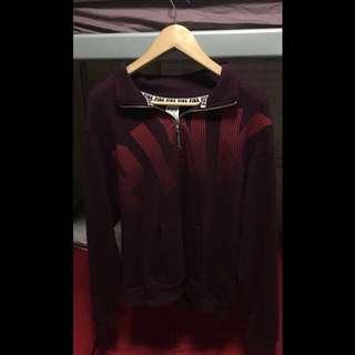 Magenta quarter zip sweat shirt Victoria's secret pink