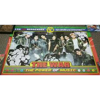 (Free Shipping) EXO The War : The Power of Music Official Poster