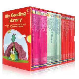 🔹Cheapest BNIB🔹Usborne My Reading Library (Promotion from now till 31/12/2017)