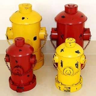 【ABS安伯家】消防栓垃圾桶 LOFT 工業風店面 擺飾擺設