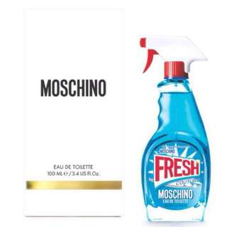 -100% authentic- Moschino Fresh Edt 100ml