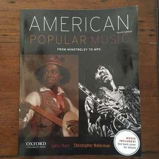 American Popular Music Forth Edition