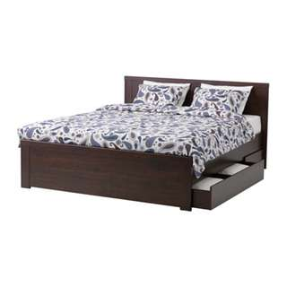 MALM IKEA bed! Great deal!!