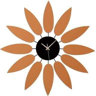 Premium large wall clock design U 60cm