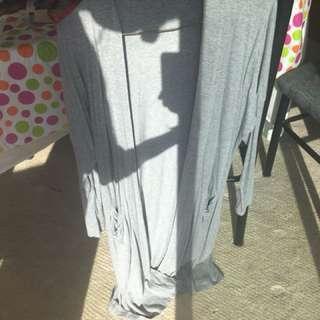 Grey cardigan size L