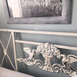 Custom Made Iron Headboard