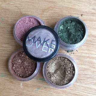 Make Over Eyeshadow Glitter Set