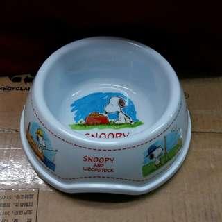 Snoopy圖案樹脂膠狗兜