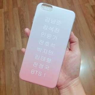 BTS CUSTOM MADE PHONE CASE